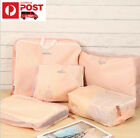 New 5 pcs HQ Luggage Organiser Bag Travel Trips Clothes Accessories Case Tidy