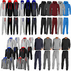 NEW MENS TRACKSUIT SET FLEECE HOODIE TOP BOTTOMS JOGGERS GYM TRACKIES JOGGING