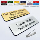 Staff ID Corporate Personalised Named Badges Practitioner Surgery Chiropodist