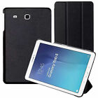 """Magnet Clasp Leather Stand Smart Case Cover For Samsung Galaxy Tab E 9.7"""" T560"""
