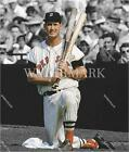 RX824 Ted Williams Red Sox On Deck 1 knee 8X10 11x14 Spotlight Photo