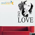 Bob Marley Love Quote Wall Stickers One Love Vinyl Home Decor For Living Room Be