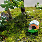 Miniature Fairy Garden Animal House Dollhouse Craft Plant Pot Ornament Decor Toy