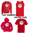 DR SEUSS CAT IN THE HAT THING1 2 3 4 5 6 T Shirt Hoodie or Sweatshirt Child size