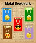 EMOJI BUILDING BLOCK BOOKMARK GIFT IDEA HAPPY SUNGLASSES WINK SAINT