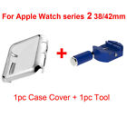 Plated PC Hard Guard Protective Case Cover+Tool For Apple Watch iWatch Series 2
