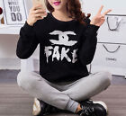 Fashion Simple Cotton Long Sleeve Round Neck Large Size Women's Shirt/Dress &