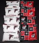 Atlanta Falcons & Georgia Bulldogs 8 ACA Regulation CORNHOLE BEAN BAGS Game Toss on eBay
