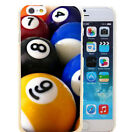 billiards 8 9 Ball Pool Rack for iPhone5 5s 6 6s 7 Plus Phone Cases $1.99 USD