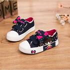 NEW Children Kids Girl Sports Sneakers Casual Canvas Shoes