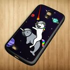 Cheap Unicorn Riding Narwhal In Space Case Cover For Samsung Galaxy S3 S4 S5