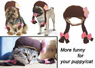 Pet Costume Adjustable Flower Hat Ponytail Cap for Dog Cat Puppy Kitten Xmas