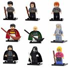 Harry Potter Mini Figures for Lego Quidditch, Ron, Hermione, Draco Malfoy, Snape