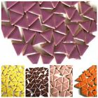 Triangle Ceramic Mosaic Tiles in a Choice of Colours - 50g