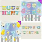Elegant Bunting Banner Happy Easter Bunny Hanging Garland Party Decor Decoration