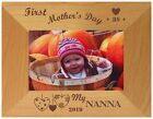 PERSONALISED FIRST MOTHER'S DAY AS MY MUM NAN PHOTO FRAME NEW BABY SON DAUGHTER
