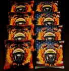 USA FIREFIGHTER RESCUE GAS MASK  Flames 8 ACA Regulation Cornhole Bean Bags B218