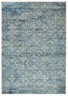 NEW Florist Blue Digital Print Rug