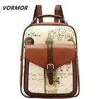 New Printing Backpack College Style Women's Backpack School Bags for Teenagers