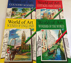 Martello Adult Colouring Books World Of Art - Cottages/Country/England/Wonders