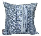 OUTDOOR INDOOR CUSHION COVER COBALT BLUE THROW PILLOW CHAIR DECK DECOR 45cm SALE