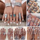 Bohemia Fashion Women Punk Vintage Knuckle Above Rings Midi Stacking Finger Ring