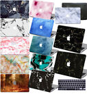 "Matte Marble Prints Rubberized Hard Case For Macbook Air Pro 13""15"" Touch Retina"
