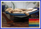 CLEARANCE Paws A While Pet Hammock, Stain Resistant Suede Fabric - 5 Colours XL