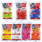 Masters Graduated Strong Plastic Golf Tees - Castle Short Extra Long Packs