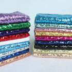 MINI DISC SEQUIN GLITZ NYLON MESH FABRIC 20 Colors SASH TABLE RUNNER OVERLAY