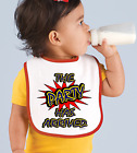 Rabbit Skins Infant Cotton Snap Bib The Party Has Arrived
