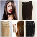 Clip In Remy Human Hair Extensions Real Human Hair Available in diff colours