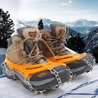 Внешний вид - Anti Slip Shoe Grips Ice Cleats Spikes Snow Gripper Non Slip Crampons 8-12 Teeth