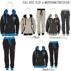 New Kids Childrens Boys Sports Gym Hooded Full Top Bottom DL FUNK Tracksuits UK