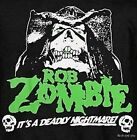 Rob Zombie Nightmare T-Shirt groove metal rock Official M L Last NWT