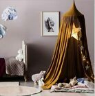 Baby Kids Bedding Dome Canopy Netting Bedcover Mosquito Curtain Net Khaki White