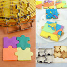 Cookie Molds Baking Tools 4PCS Stainless Steel Biscuit Jigsaw Cutters Funny