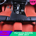 Car Floor Mats Y2R3 Front & Rear Yes 7 Colors Waterproof For Lexus RX450h 09-17