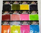 SPIRIT RIVER UV2 STRUNG MARABOU FEATHERS FOR FLY JIG TYING PICK COLOR CLOSEOUT