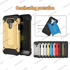 Shockproof Hybrid Heavy Duty Armor Cover Case For LG K8 K7 / Phoenix 2 / Escape3