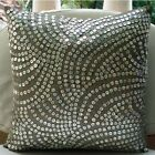 """Silver Mother Of Pearls 24""""x24"""" Silk Pillow Sham - Pearl Nostalgia"""
