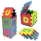 36 pcs Kids Blocks Toys Baby Puzzle Child Alphanumeric Educational Infant Gift