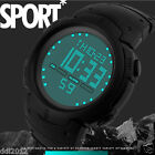 Men's LED Digital Sport Watches Waterproof Fashion Army Military Wrist Watches