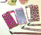 Leopard Print Dual Back & Front Case For iPhone 6 / 7/ Plus Ultra-light Cover