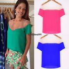 Stylish Lady Women Sexy Short Sleeve Patchwork Casual Loose Chiffon Tops OO5501