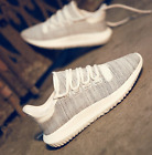 Womens Sprot Sneakers Mesh Breathable  Flats Casual Running Shoes Lace Up New