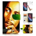Moto ( G4 Plus ) Wallet Case Cover AJ20024 Bob Marley