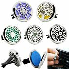 5 Style Stainless Car Air Vent Freshener Essential Oil Diffuser Locket Best Gift