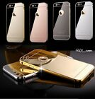 Luxury Aluminum Ultra-thin Mirror Metal Case Cover for iPhone 6 & 6s NEW