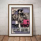 The Who 1965 At The Marquee Club Concert Three Print Option or Framed Poster NEW